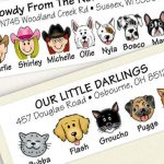 Amazing Labels Showcase Your Fur Family