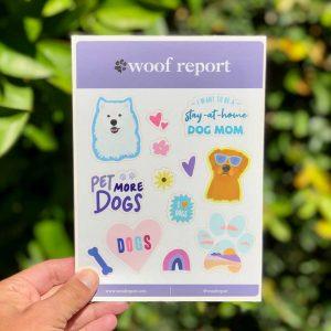 Dog Lover Sticker Sheets